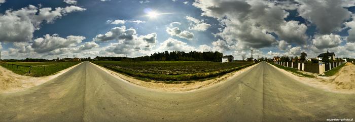 Panorama Szosa